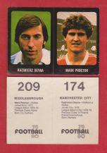Manchester City Kazimierz Deyna & Middlesbrough Mark Proctor